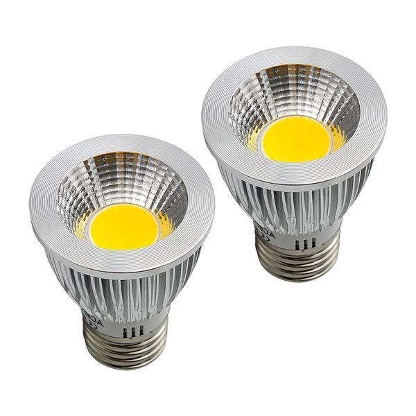 COB Led ampuller 9 W 12 W 15 W COB GU10 GU5.3 E27 E14 MR16 Dim LED Spor ışık DC12V AC 110 V 220 V 240 V ampuller