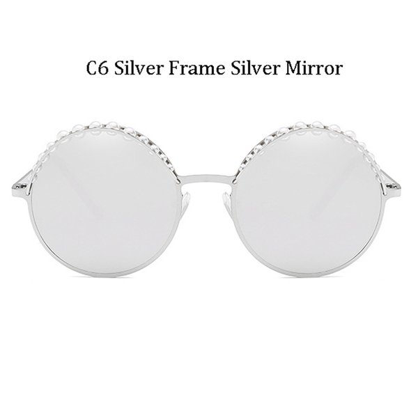 C6 Silver Frame Silver Mirror