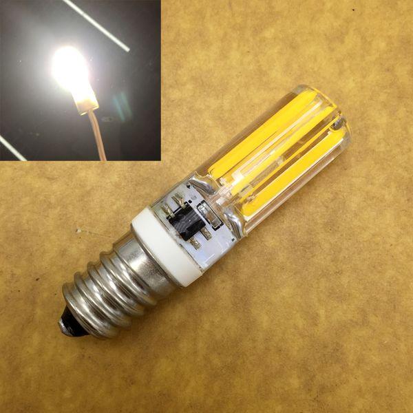 Energy Saving LED E14 Corn Lamp Bulb 220V 240V Dimmable 10W COB LED Lighting Lights replace Halogen Crystal Chandelier 5pcs/lot