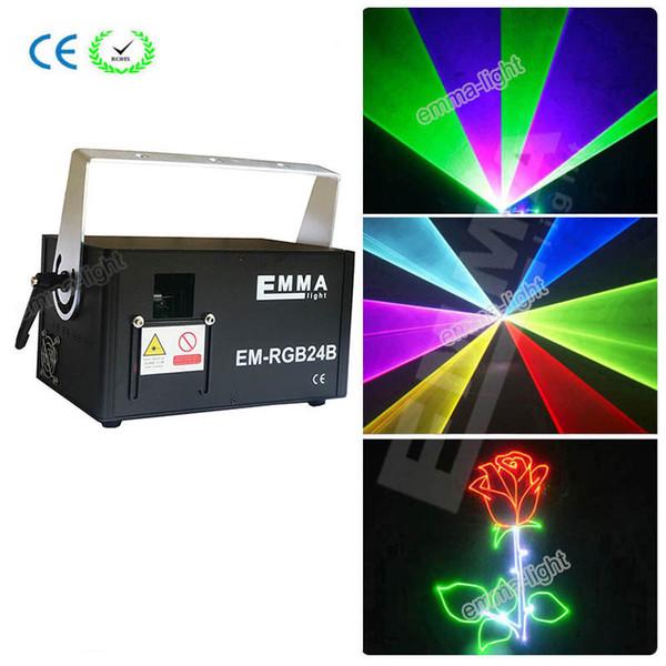 ILDA 1.5w RGB Laserlicht, SD CARD 1.5 Watt RGB Laserprojektor, 1500mW Farblaserlicht für DJ Disco Club Weihnachten