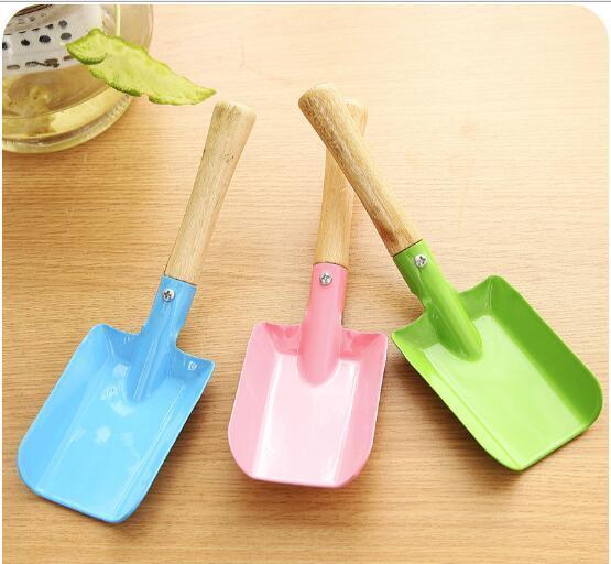 Mini Gardening Shovel Colorful Metal Small Shovel Garden Spade Hardware Tools Digging Garden Tools Kids Spade Tool