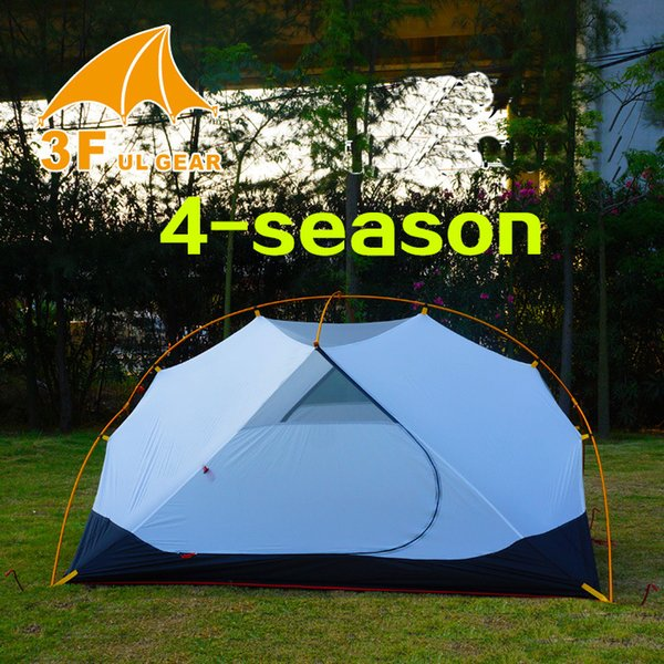 2019 3F ul Gear 4 Season 2 Person Tent Vents Ultralight Camping Tent Body For MRS Hubba Inner Tent cheap new