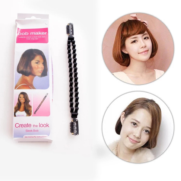 Japan - Korea hot braided braided hair DIY centipede braid hair curly hair styling tools girl Korean version.