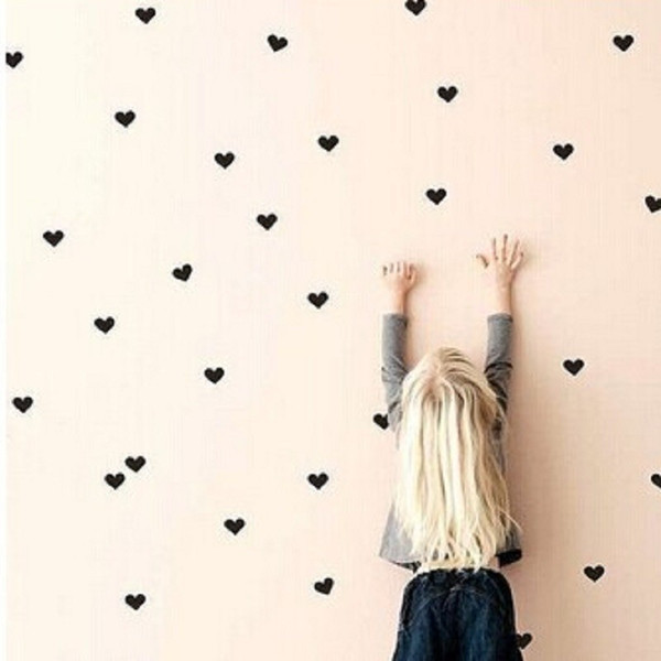 diy wall decor with pictures.htm diy wall sticker creative love shape children room polychromatic  diy wall sticker creative love shape