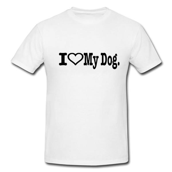 Я люблю свою собаку смешные мужские или Леди Fit футболка Футболка смешной подарок лошадь смешно бесплатная доставка унисекс тройник