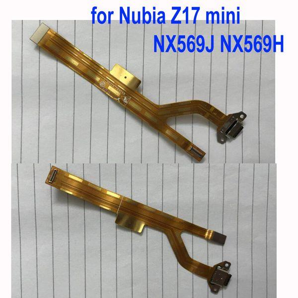 LTPro Original Charging Port Flex Cable Ribbon For Nubia Z17 mini NX569J NX569H Dock Connector Micro USB Charging Port