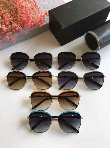 New Fashion Designer Sunglasses BV6112 model full frame uv400 Super light Plank with gem high quality with original box