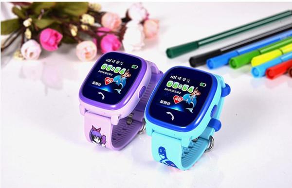 Waterproof Children GPS Swim phone smart watch baby watch SOS Call Location Device Tracker Kids Safe Anti-Lost Monitor