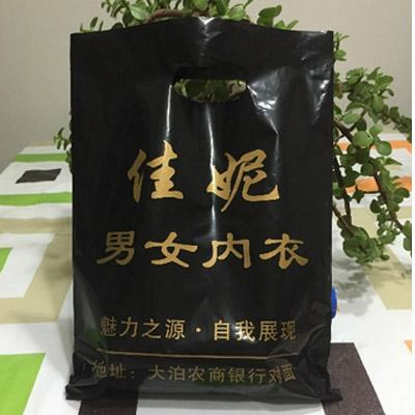 "Custom Logo Plastic Bag 15x20cm(6""x8"") pack of 200 Makeup Jewelry Handing shopping pouches"