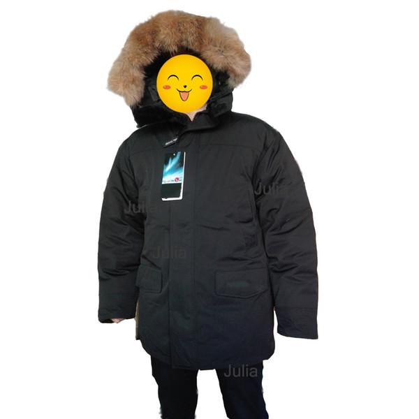 Brand Winter Jackets Men Women Children White Duck Down Goose Parkas Raccoon Fur Winter Jacket Down Coat GOODE Coats
