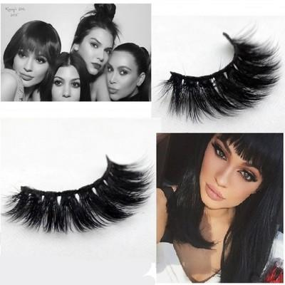 Top sale 3D fiber stereo Full strip False Eyelashes Cross fake lashes thick popular Eyelashes Extension beautiful make up tool