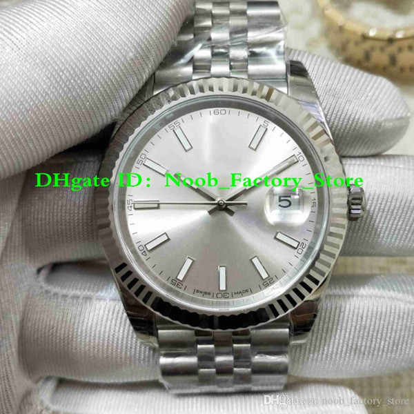 Luxury watch men 41mm New Strap 2813 movement automatic mechanical watch sweeping movement Stainless steel clock Datejust model 116333 watch