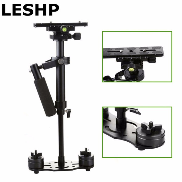 S40 S60 S80 Steadycam Skalierbare Kohlefaser Hand Stabilizer Steadicam für DSLR Kamera Compact Camcorder