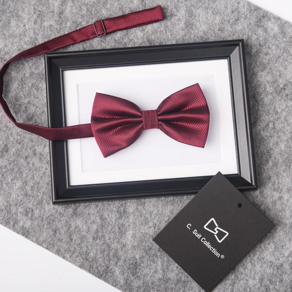 cc995311080b New Arrival Gentlemen Tuxedo Groom Bow Tie Men Dot Groom Groomsmen Wedding  Party Colorful Butterfly Cravats Wedding Suits Accessories