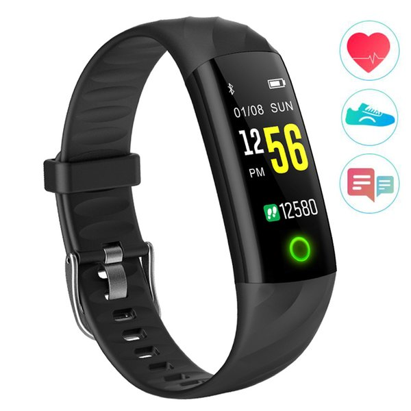Colorful Touch Screen Fitness Smart Watch Heart Rate Blood Pressure Pedometer Calorie Waterproof Sport Watch Sleep Tracker