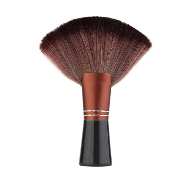 Hair Cutting Neck Duster Brush for Hair Stylist Professional Barber Cleaning Tool with Wood Handle Salon Stylist Barber H13503
