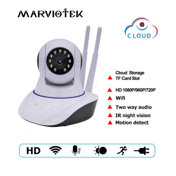 IP Camera 1080P Wi-Fi Video Surveillance Camera WiFi P2P sicurezza domestica CCTV Wireless Baby Monitor IR bidirezionale citofono