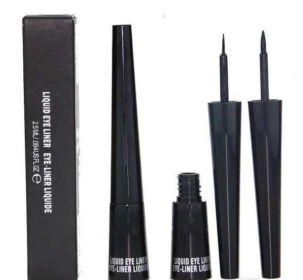 New m black liquid eyeliner pen mc co me tic waterproof eyeliner long la ting co metic eye makeup liquid eyeliner pencil