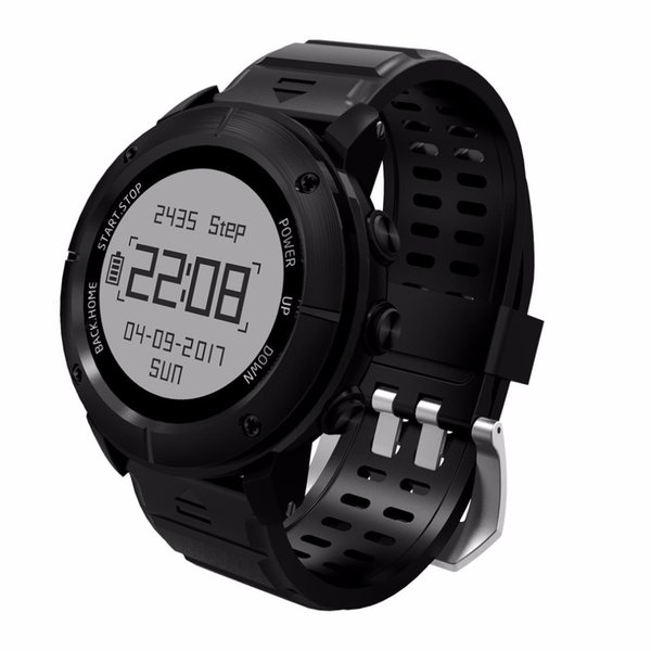 UW80 GPS Smart Watch SOS Thermometer Pressure Gauge Sport Heart Rate Monitor Bluetooth Pedometer Smartwatch