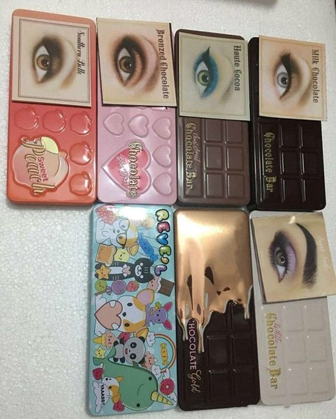 In tock weet peach makeup eye hadow chocolate bar emi weet bonbon gold white 16 color profe ional eye hadow palette dhl free