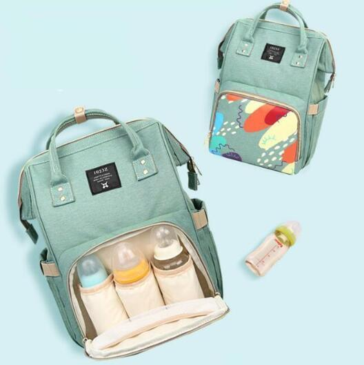 best selling Multifunctional Mommy Backpacks Nappies Bags Diaper Bags Backpack Maternity Large Capacity Outdoor Travel Bags BG02-2 3 PCS