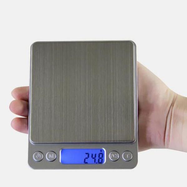 La balanza electrónica digital Mini dice que la panadería de cocina de 0,01g de peso en forma de peso se llama báscula con precisión 1KG / 2KG / 3kg / 0.1g 200G / 500g / 0.01g USZ170