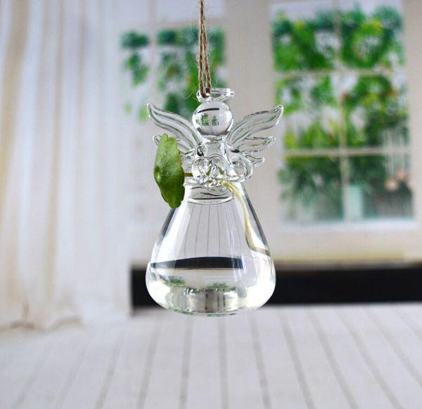 Cam vazo sevgililer Günü hediyesi melek vazo el yapımı vazo ev dekorasyon moda tatil hediye doğum günü hediyesi