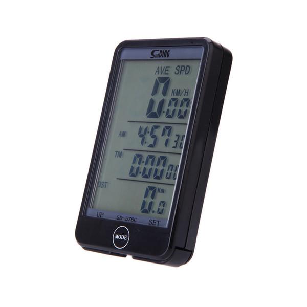 Accesorios de bicicletas Bike Wireless LCD Bike Computer Odómetro Impermeable Velocímetro Bicicleta de ciclo
