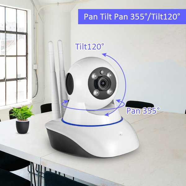 720P HD WiFi IP camera Wireless Network camera Webcam Home Security Camera Surveillance PnP P2P APP Pan Tilt IR Cut
