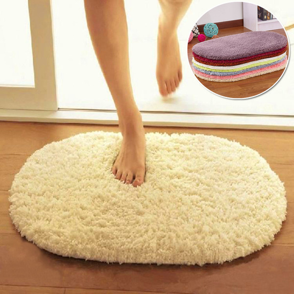 Super Magic Slip Resistant Pad Soft Room Oval Carpet Floor Tapis