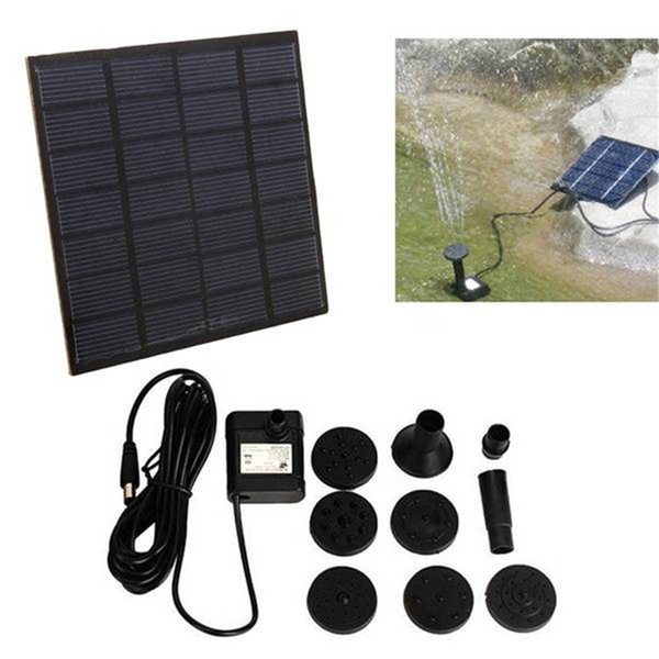 200L/h Solar Water Brushless Water Pump For Fountain Garden Small Type Solar Power for Fountain Pool Garden Landscape