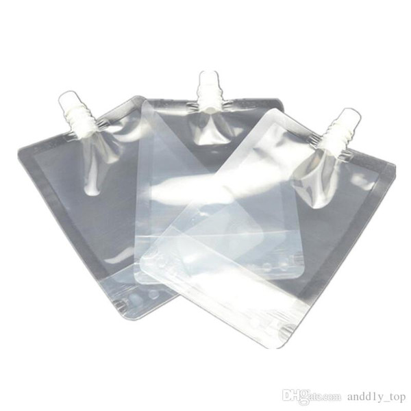300ml Stand-up Plastic Drink Packaging Bag Spout Pouch for Juice Milk Coffee Beverage Liquid Packing bag