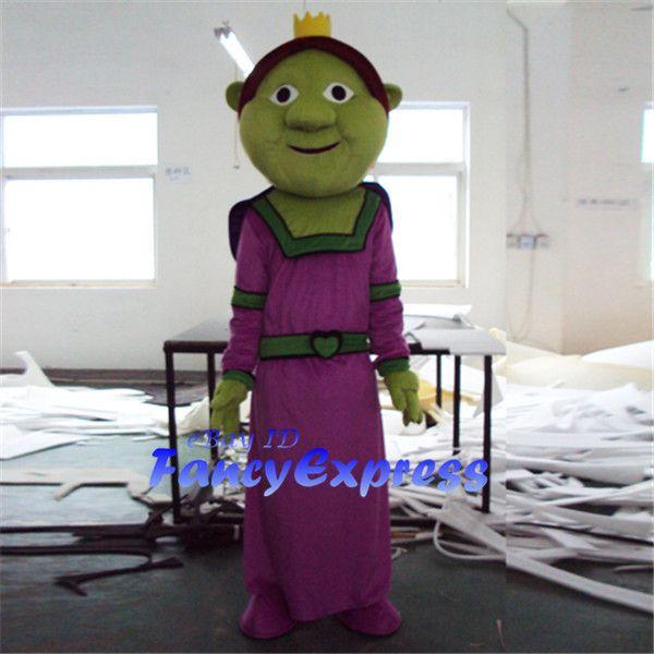 Disfraz de mascota princesa Fiona Sra. Shrek Fiesta de Halloween Personaje Disfraz Disfraz Adulto