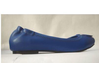 2018 new Hot nouvelles femmes en cuir véritable en cuir d'agneau Ballet plat chaussures décontractées taille US 4-10