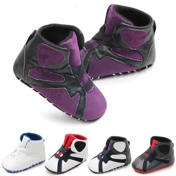 Carta dos miúdos do bebê primeiros caminhantes infantis fundo macio sapatos anti-derrapante sapatos de inverno quente da criança