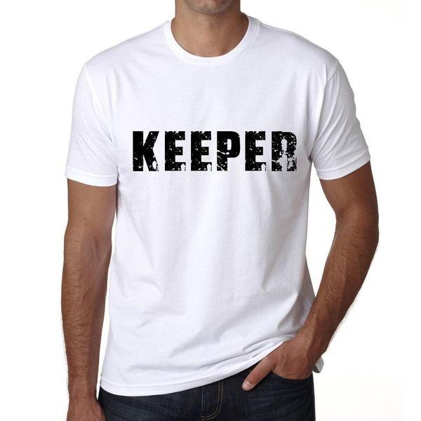 Camisa de Homme T Graphique Imprimé Vintage Tee keeper