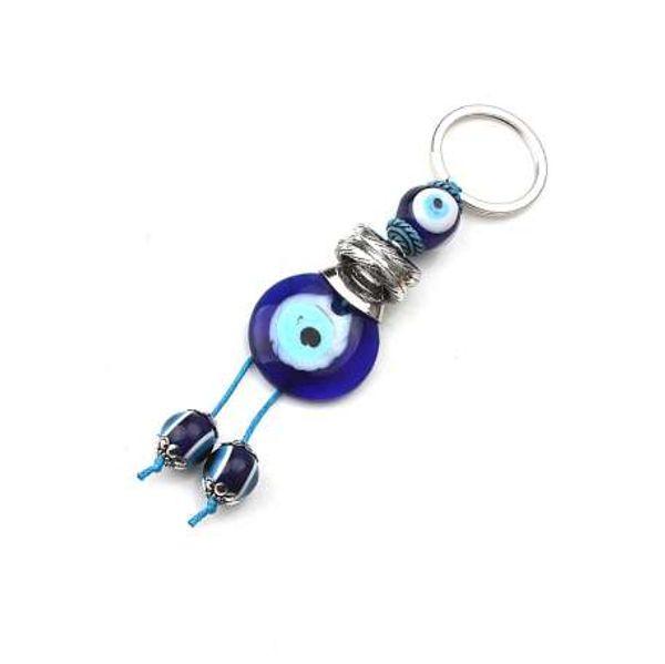 1 pc Lucky Eye Keychain Evil Eye Perles Tassel porte-clés De Voiture Porte-clés Pour Hommes Femmes De Mode Artisanat Porte-clés