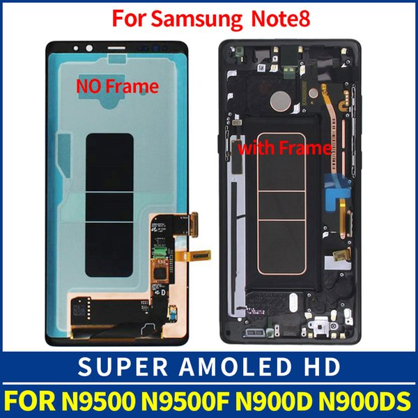 "6.3"" Amoled For Samsung Note 8 LCD Note8 Lcd Display Touch Screen Digitizer Assembly For Samsung Pro N9500 N9500F N900D N900DS"