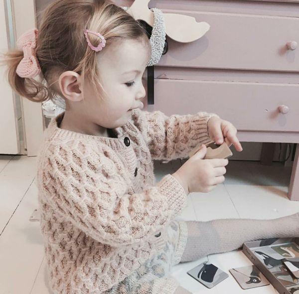 INS little girls cardigan girls twist knitted sweater outwear children round collar long sleeve outwear fashion baby boy clothes F0903