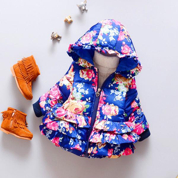 Baby Bolero Soft Cotton Padded Jacket Infant Coat Giacche Neonati Ponchos Capes Children Jacket Female Autumn Clothing