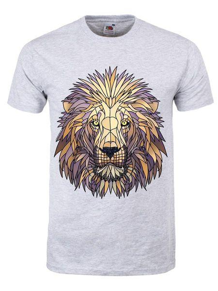 Unorthodox Mufasa Hommes T-shirt Gris