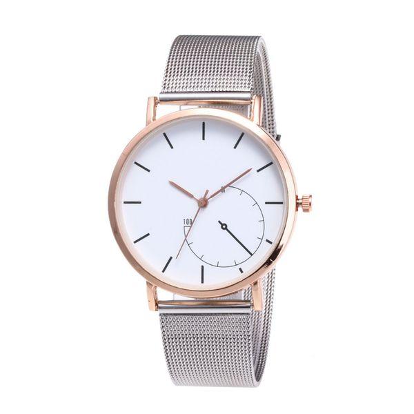 2018  Women Bracelet Watches Fashion Women Dress Fashion Womens Classic Gold Geneva Quartz Stainless Steel Wrist Watch#Zer