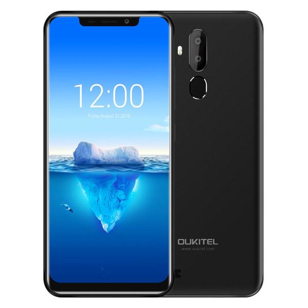 "Original OUKITEL C12 Pro 6.18"" 19:9 Android 8.1 MT6739 Quad Core Mobile Phone Quad Core 2G RAM 16G ROM Fingerprint Face ID 4G 3300mAh Smart"