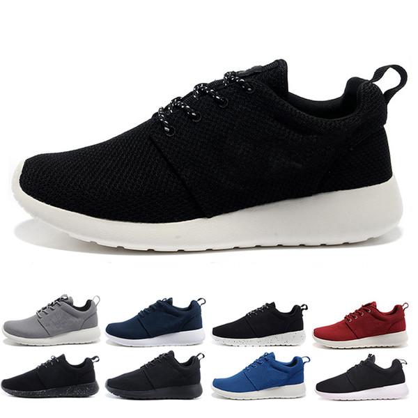 Alta Calidad Hombre Nike Zapatillas Blanco Negro Gris