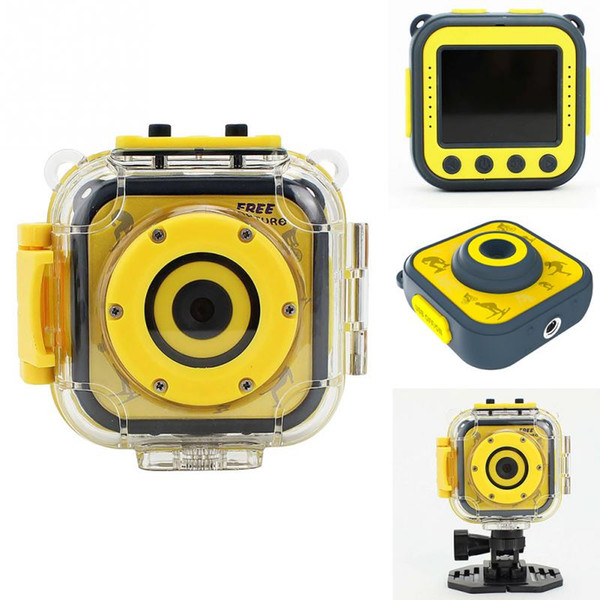 Digital Camera Action Video Camera 1.77 Inch Children's waterproof sports HD Mini Video camera For Kids outdoor Birthday Holiday Gift
