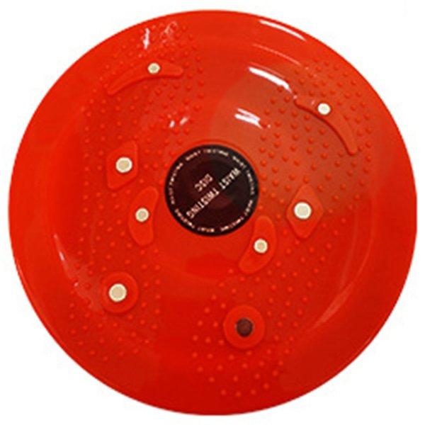 Nueva pequeña conveniente imán cintura Twister Wriggling placa Twister Board Disco adelgazamiento de piernas para Fitness Fitness Home Fitness