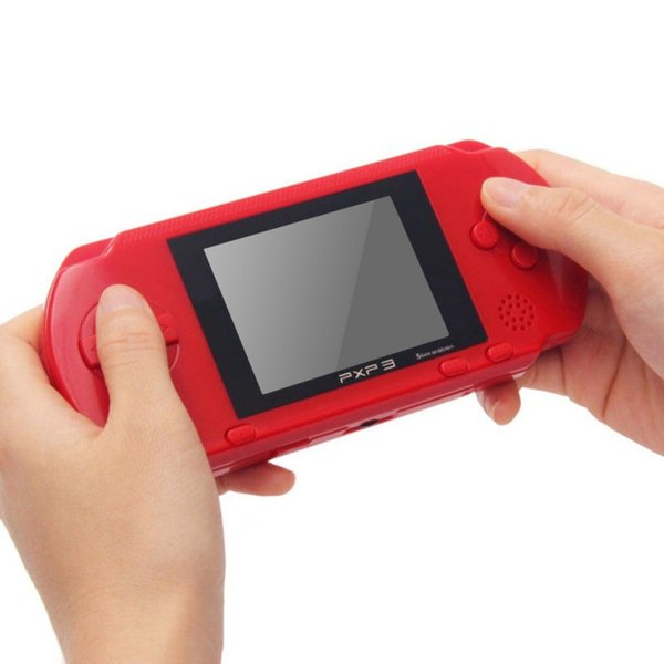 5 Color Handheld Games Player 16 bit Portable Video Game Console PXP3 Game Console Pocket Game Player Best Gift for Christmas Free Shipping