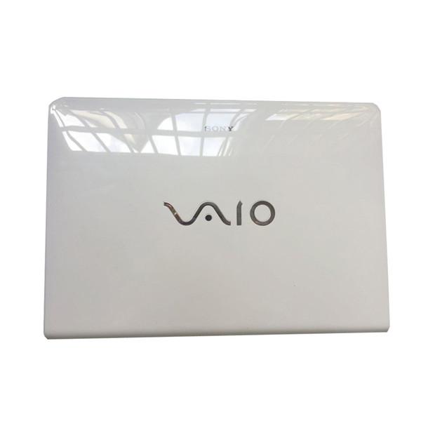 Tapa trasera superior para laptop para Sony Vaio SVE14 SVE14A SVE14AE13L contraportada No Touch Blanco