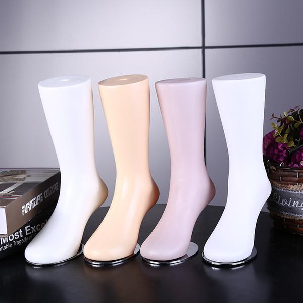 Maniquí del pie del maniquí de las mujeres de la nueva llegada de alta calidad de moda para la exhibición de los calcetines