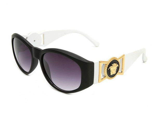 1 stücke Ausgezeichnete Qualität Mode Marke design Sonnenbrille Halbrandlose Sonnenbrille Für Mens Frauen Gold Rahmen UV400 Linsen Mit Fällen und